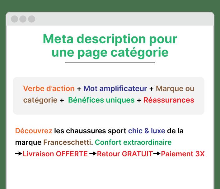 exemple meta description pour une catégorie
