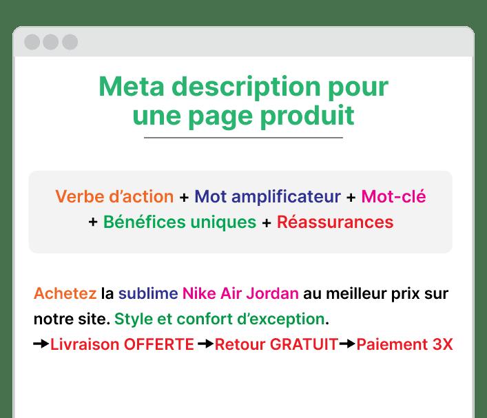 exemple meta description pour un produit